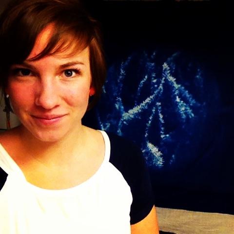 Selfie #7: Cyanotypes!