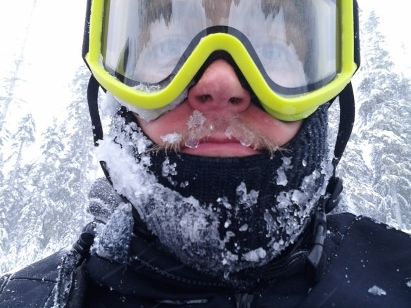 Selfie #27: Boardin with a fever; still a good time (feb. 16)