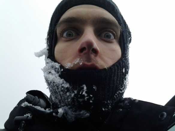Selfie #30: Powder crazy. (Feb. 21)