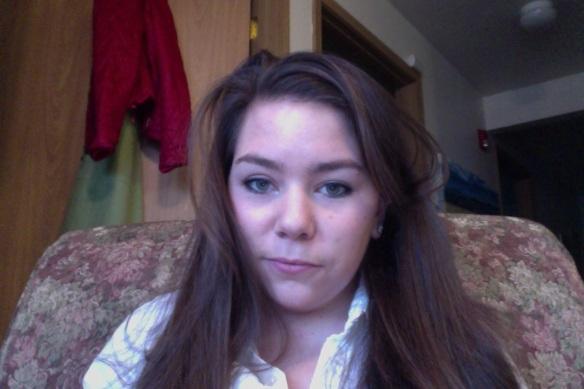 Selfie #12 Work stress