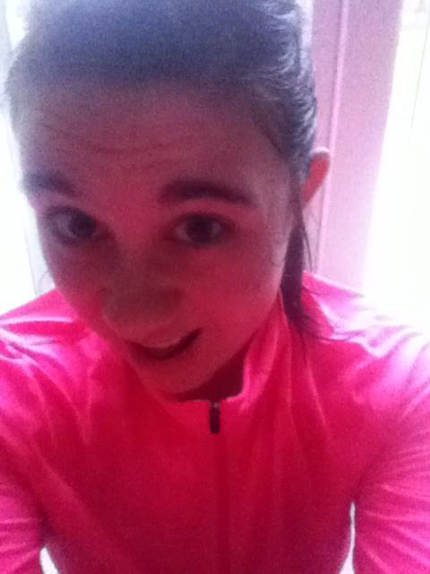 Selfie #38: Rainyday Run (Feb. 15)