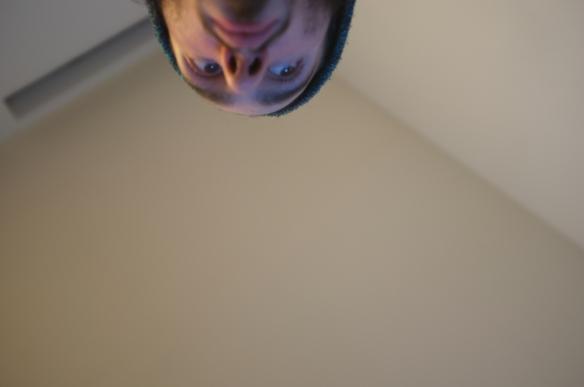 Selfie#22: Side down up (1/30/14)