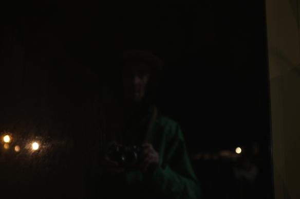 Selfie#33: Green shadow (2/10/14)