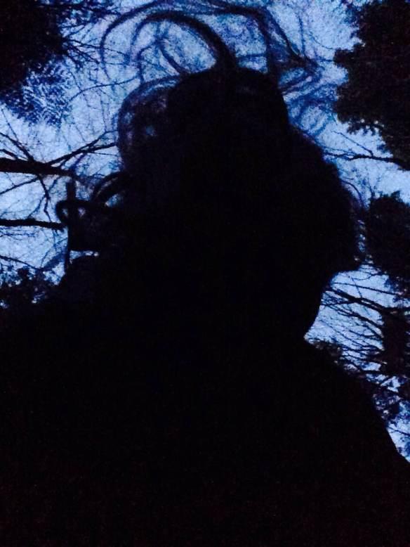 Maggie Degman selfie #18 silhouette (1/26)