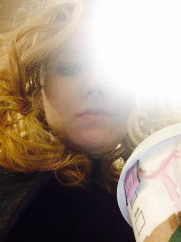 Maggie Degman selfie #26 peer (2/2)