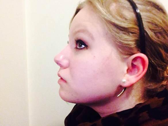 Maggie Degman selfie #28 side (2/4)