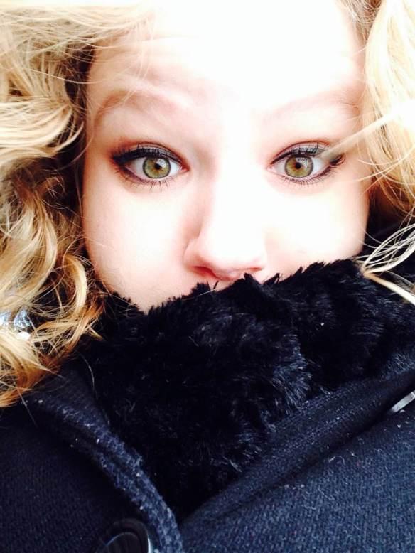 Maggie Degman selfie #32 cold (2/8)