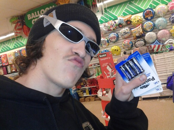 Selfie #39: Dollar tree steeze (March 2)