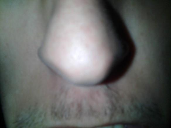 Selfie #50: Nose n stash (March 14)