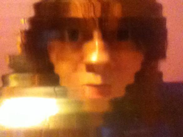 Selfie #47: Distortion 1 (Feb. 24)