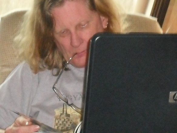 Self timer at homework #46