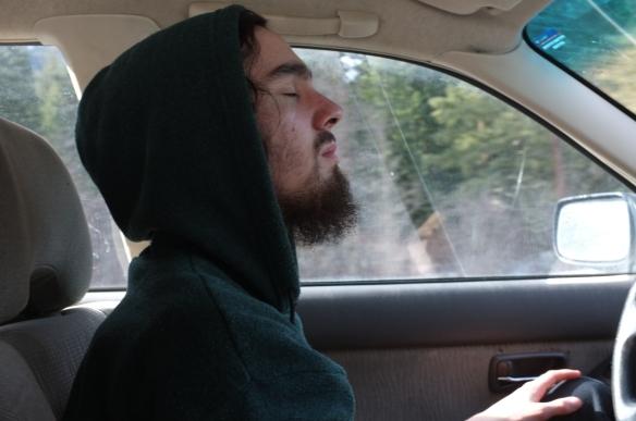 Selfie#65: Dead Driving (3/14/14)