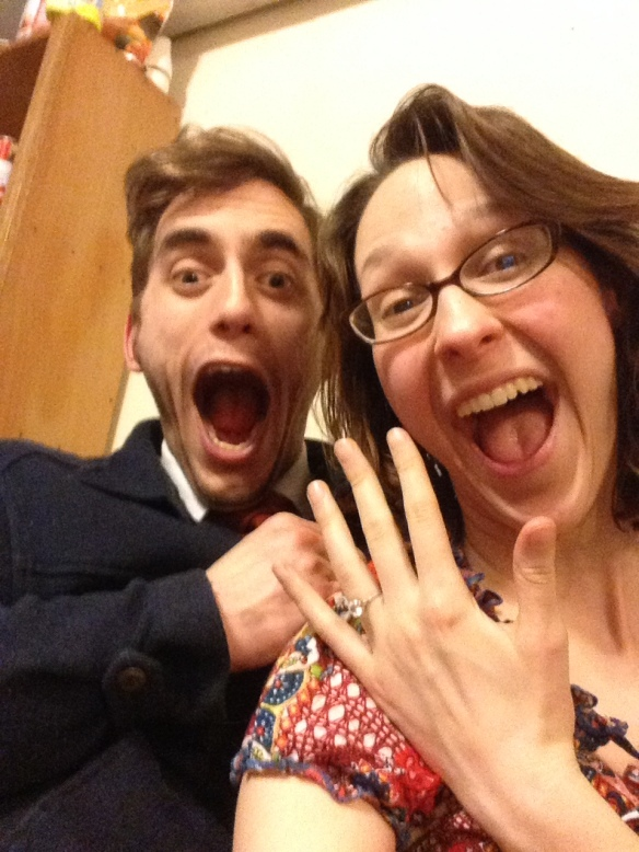 Hannah Bryan Selfie #40 Excited Engagement !(February 16th)