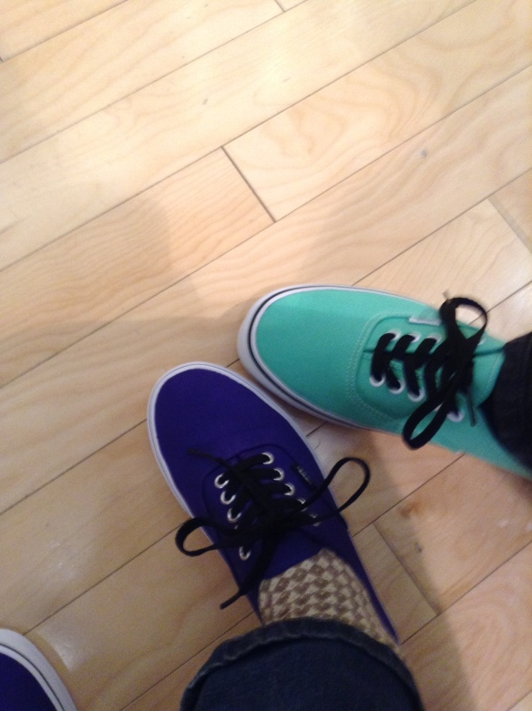 Hannah Bryan Selfie #50 Vans for the win (March 2nd)