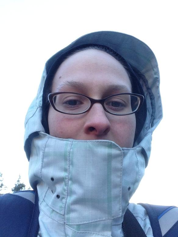 Hannah Bryan Selfie #28 Windy Wet Winter (February 4th)