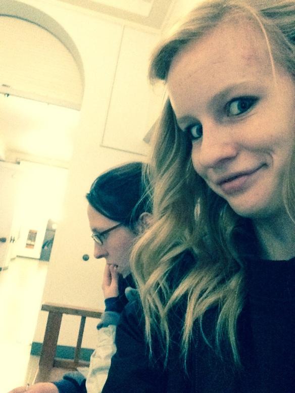 Hannah Bryan Selfie #31Filing For FAFSA (February 7th)