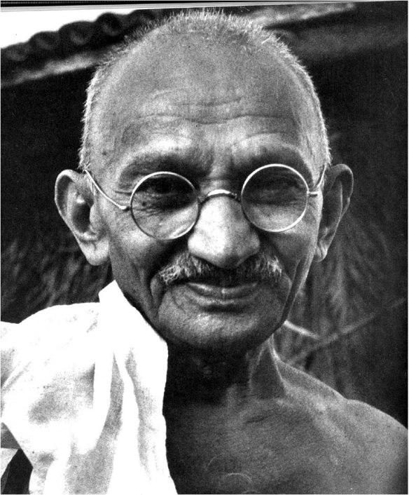 Gandhi hated photographers. (#10)