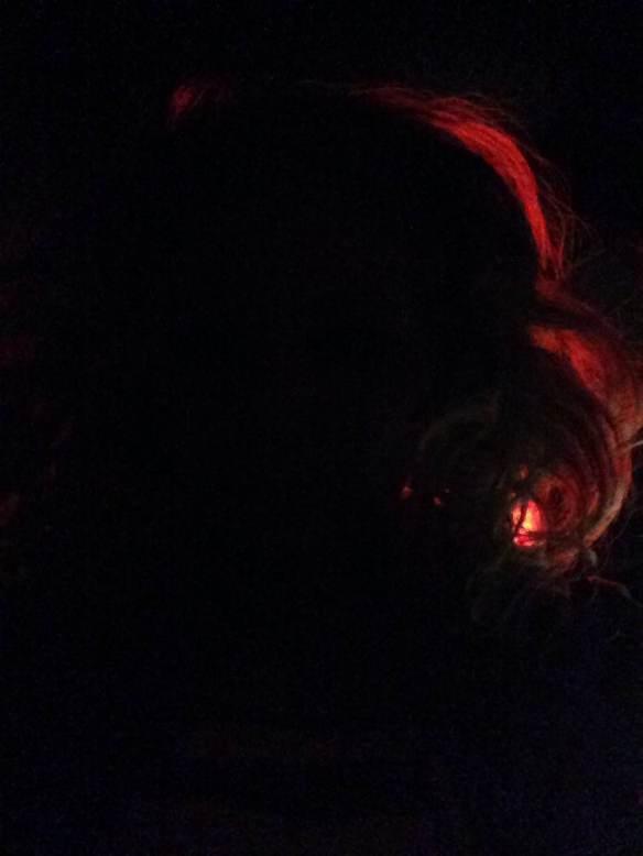 Maggie Degman selfie #38 red (2/14)