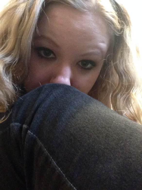 Maggie Degman selfie #60 leg (3/8)
