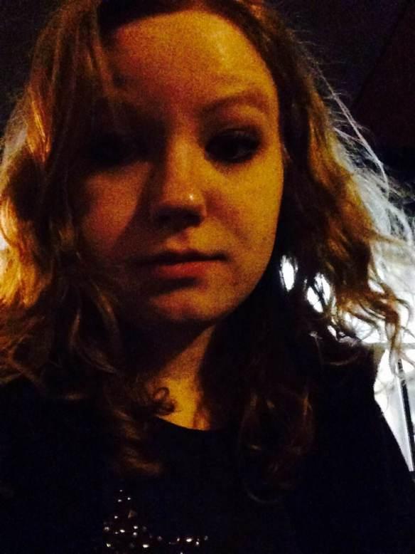 Maggie Degman selfie #52 night (2/28)