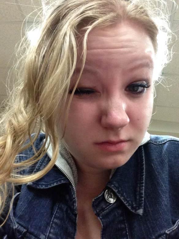 Maggie Degman selfie #53 frizz (3/1)